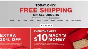 Macy's: FREE SHIPPING With No Min. TODAY + Super Deals On ... Macys Plans Store Closures Posts Encouraging Holiday Sales 15 Best Black Friday Deals For 2019 Coupons Shopping Promo Codes January 20 How Does Retailmenot Work Popsugar Smart Living At Ux Planet Code Discount Up To 80 Off Pinned March 15th Extra 30 Or Online Via The One Little Box Thats Costing You Big Dollars Ecommerce 2018 New Online Printable Coupon 20 50 Pay Less By Savecoupon02 Stop Search Leaks Once And For All Increase Coupon Off Purchase Of More Use Blkfri50
