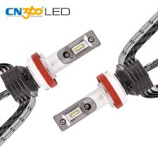 2017 automobile led lighting xd14 8000lm f1 car headlight bulb h11
