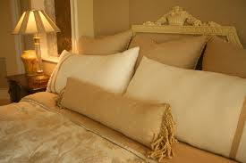 The Gold And Ivory Design Scheme Of This Room Intricate Attention To Detail Make