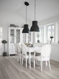 ikea hektar large pendant ls and hemnes glass door cabinets
