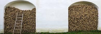 kaminholzregal kaminholzunterstand kaufen selber bauen