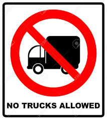 Vector Illustration. No Trucks Allowed Sign Isolated Against A White ... This Sign Says Both Dead End And No Thru Trucks Mildlyteresting Fork Lift Sign First Safety Signs Vintage No Trucks Main Clipart Road Signs No Heavy Trucks Day Ross Tagg Design Allowed In Neighborhood Rules Regulations Photo For Allowed Meashots Entry For Heavy Vehicles Prohibitory By Salagraphics Belgian Regulatory Road Stock Illustration Getty Images
