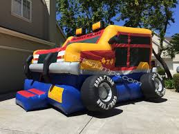 Hum V   Bounce House Rentals Livermore CA Water Slide Pleasanton ... Monster Truck Bounce House Jump Houses Dallas Rental Austin Rentals Introducing The Combo Water Slide Houston Sky High Party The Patriot Inflatable Whiteford Contractor Equip Powered Dump Trailers 40 Container Bounce Houses Doral Comobo Disco Dome Bouncy Castle For Sale Trex Obstacle