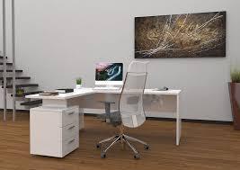 bureau blanc brillant bureau laqué blanc comparer les prix avec le guide shopping kibodio
