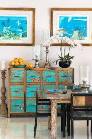 maritimes flair im haus bringt die farbgestaltung in blau weiß
