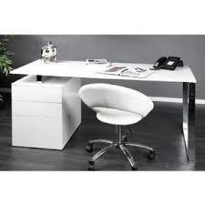 bureaux blanc laqué bureau laque blanc avec tiroirs comparer 110 offres
