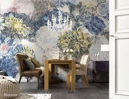 Wall Mural Decals Flowers by Komar 8 941 Frisky Flowers Wall Mural Amazon Com