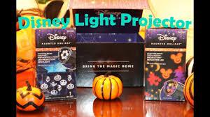 Halloween Blow Molds Kmart by Full Unboxing Of Disney Halloween Light Projectors Youtube