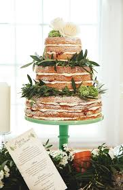 Three Sisters Bake Naked Wedding Cake