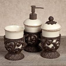 Mercury Glass Bathroom Accessories by Gracious Goods Collection Bath U0026 Vanity Accessories