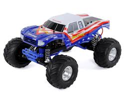 100 Bigfoot Monster Trucks Traxxas 110 RTR Truck Red White Blue