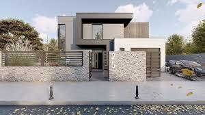 100 Odern House Modern 3D Model