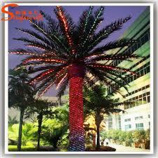 prix des palmiers exterieur à grande échelle aménagement extérieur artificielle palm trees