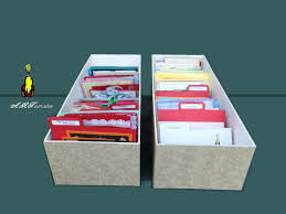 article fabriquer ses boites de rangement de cartes les