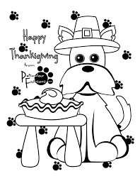 Download Coloring Pages Printable Thanksgiving Page