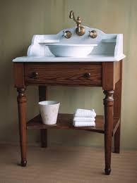 Rustic Style Bathroom Vanity