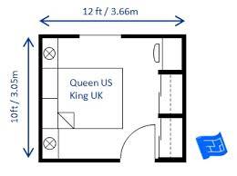 Small Bedroom Design Queen 10 X 12ft