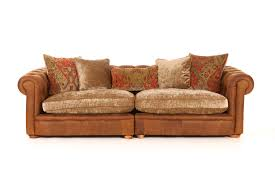 Marge Carson Sofa Construction by Leather Sofas And Chairs Franklin Maxi Split Sofa With Fabric