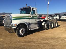 100 Tri Axle Heavy Haul Trucks For Sale 2001 International 9900i Day Cab Truck Caterpillar C15 6NZ