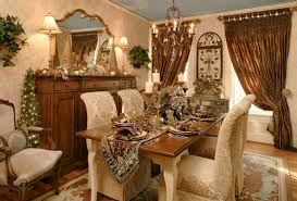 Classy Country Decorating Ideas Rustic Wood Collage Frames Christmas Dining Room