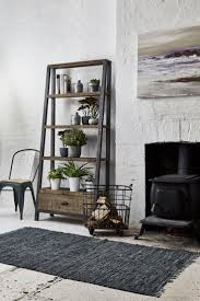 Looking For Some Living Room Inspiration Mix Natural Rustic Furniture With Cool Coloured Accessories Best Grey