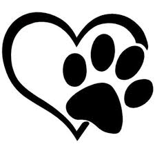 Heart with Paw Print Highjacked Tattoos Dog Lasts Two Weeks