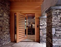 100 Rustic House With Modern Wooden Front Door Most Popular Materials