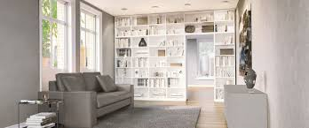 bibliotheken nach maß fürs wohnzimmer planen