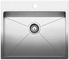 Stainless Steel Utility Sink Canada by Blanco 401802 Quatrus R15 1 Bowl Drop In Laundry Sink Stainless