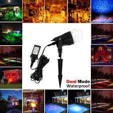 Firefly Laser Lamp Uk by Laser Rotating Flame Light Projectors Waterproof Christmas