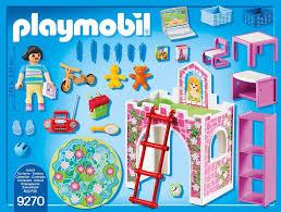 playmobil city 9270 fröhliches kinderzimmer ab 4