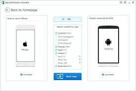 Sync iPhone Contacts to Android Transfer iPhone Contacts to