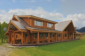Pioneer Log Homes for Sale