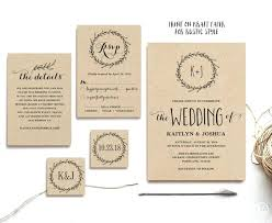 Rustic Wedding Invitation Ideas Wording
