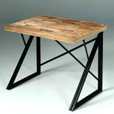 bureau metal et bois bureau metal bois bureau bois metal mal grand blanc bim a co le