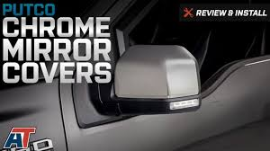 2015-2016 F150 Putco Chrome Mirror Covers Replacement Review ... Tyger Abs Triple Chrome Plated A Pair Mirror Covers 9706 Ford Putco Peel And Stick Installation Replacement Carbon Fiber Cf Mirror Covers For Bmw F10 F30 F26 F16 Upgrade Performancestyle Ugplay Towing Mirrors 2pcs Landrover Discovery 3 And 4 05 Onwards Stainless Steel Polaris Slingshot Side View By Tufskinz Agency Power Carbon Fiber Door Set Of 2 Mini Cooper Avs 687665 42018 Chevy Silverado Trim Vw Touareg 2008 2011 Silver Wing Cap 52016 F150 Skull Replacement