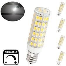 bonlux 6w dimmable e12 led light bulb daylight 6000k t3 t4