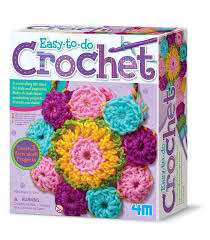 Amazon 4M Easy To Do Crochet Kit Toys Games