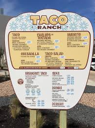 Check Out The Full Menu For Taco Ranch, P. Terry's Taco Concept That ...
