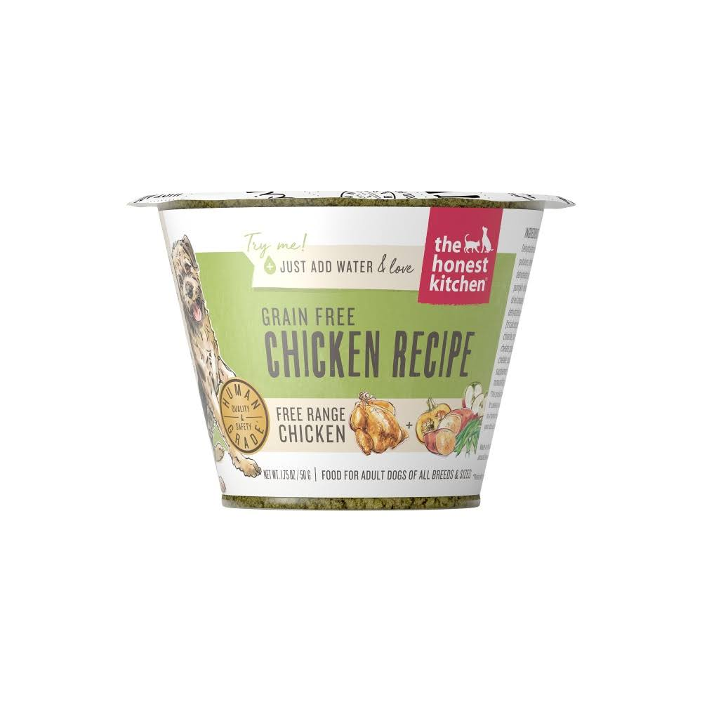 The Honest Kitchen Grain-Free Chicken Recipe Dehydrated Dog Food 1.75oz
