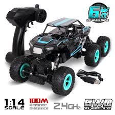 100 Scale Rc Trucks Buy Rolytoy 6WD 114 RC Car For Adults Off Road Remote