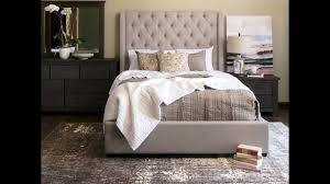 jerome s furniture parlee upholstered bedroom set youtube