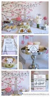 Kitchen Tea Themes Ideas by Best 25 French Bridal Showers Ideas On Pinterest Paris Bridal
