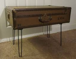 coffee table appearance details for steamer trunk coffee table
