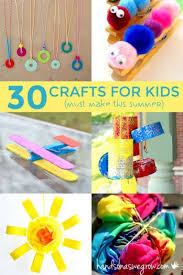 30 Summer Crafts For Kids To Make