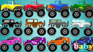 Monster Truck Colors | Learn Colors With Monster Trucks - YouTube Monster Trucks For Children 2 Numbers Colors Letters Youtube Pick Up Truck Cargo Plane 3d Cartoon Cars For Children Counting Learn To Count From 1 20 Kids Fire Truck Team Vs Jam Home Facebook In Haunted House Halloween Videos Collection Wash 1m Sin City Hustler Is Worlds Longest Monster Videos On Youtube 28 Images Police Vehicles Race Pinkfong Songs Vs Sports Car Video Toy