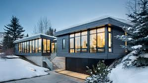 100 Studio B Home Wraps Elevated Aspen Home In Zinc And Glass