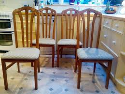 Dining Chairs: Set Of 4, Very Good Condition. Light Wood, Green ... Make Your Dinner Table A Place To Tarry With These Stylish Seats 10 Best Ding Chair Seat Covers 2019 Shopping Guide Bestviva Haizhen Chairs Sofas Stools Elderly Solid Wood Home How To Help Someone Stand Up Ask The Audience Go With My New Ding Table Emily Lazy Lounge Recling Nap For Indoor Tribeca Counterheight 4 Side And Bench Tobacco 1 Comfortable For Comfortable Chairs Home Room Arms Wooden Simple Round Casters Fniture Page1 Wheels Task