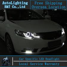 car styling for kia forte headlights 2011 2014 forte led headlight