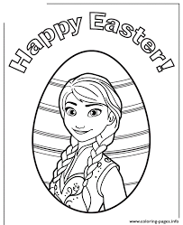 Princess Anna Happy Easter Colouring Page Coloring Pages Print Download 457 Prints